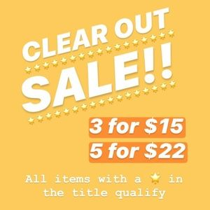 Tops - 🌟🌟🌟 3/$15 and 5/$22 CLEAR OUT SALE🌟🌟🌟